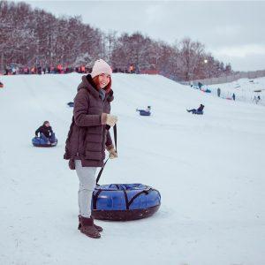 Зимние тюбинги